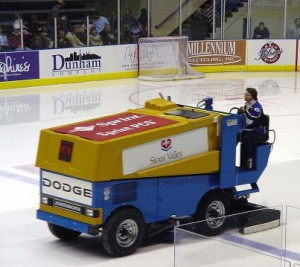 Zamboni drivers are cool