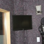 Interior of Vocal Booth