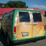 The Van, Rear View